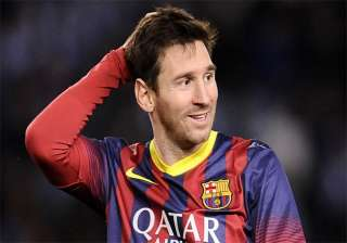 all eyes on lionel messi s foot as la liga...