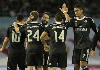 easy looking match for real madrid vs almeria -...