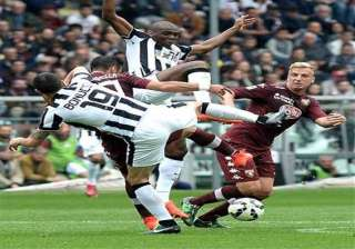 juventus beaten 2 1 by torino in derby marred by...