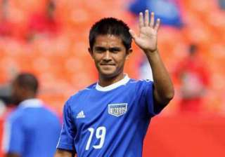 india s sunil chhetri in uk based football...