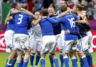 italy celebrates a magical night against germany...