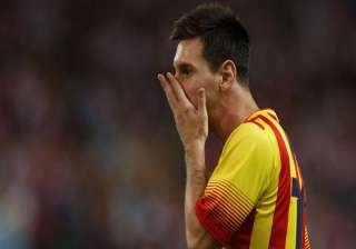 lionel messi s leg injury is a muscle bruise says...