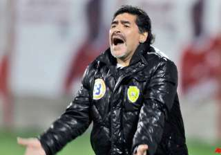 maradona threatens to leave al wasl after season...