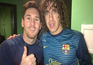messi and puyol back for milan and madrid matches...