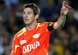 messi scores 3 goals in world soccer masters tour...