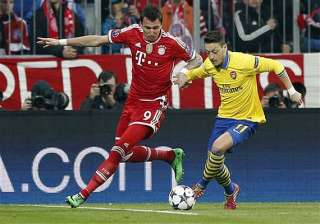 mesut ozil out for up to 6 weeks. - India TV