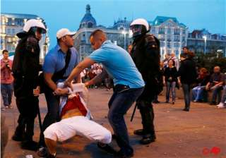 polish courts convict 14 in soccer violence -...