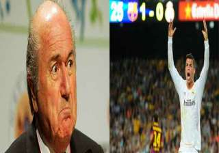 real madrid asks blatter to apologize to ronaldo...