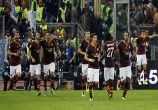 roma matches best start in serie a history -...