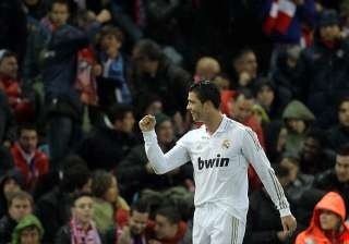 ronaldo matches own goal record in madrid win -...