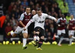 rooney scores from halfway line for man united -...