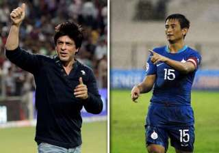 srk in football to be big gamechanger says bhutia...