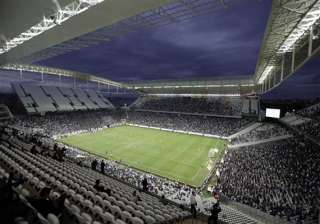 sao paulo stadium given clearance for world cup...