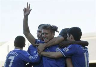 schuerrle s treble gives chelsea 3 1 win at...