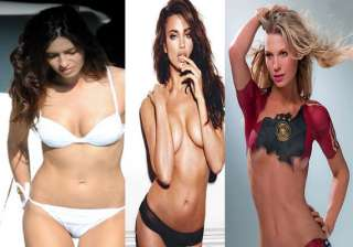the hot wives and girlfriends of footballers who...