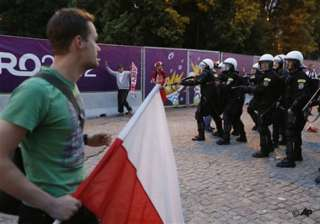 uefa condemns isolated violence at euro 2012 -...