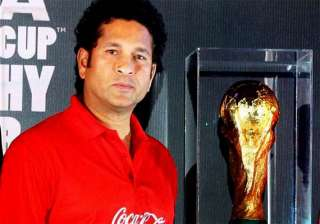 when fifa world cup trophy visited india - India...