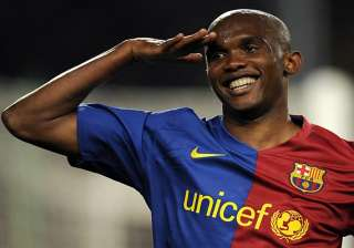 world cup play off retired eto o comes back for...