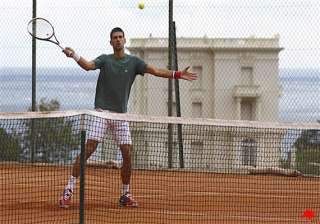 djokovic prepares to strike a blow at monte carlo...