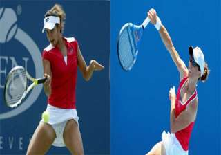 french open sania mirza cara black enter women...