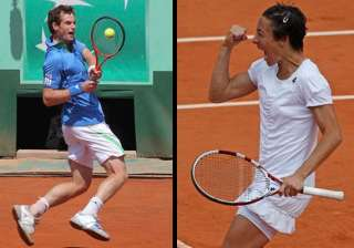 french open andy murray enters qf schiavone...