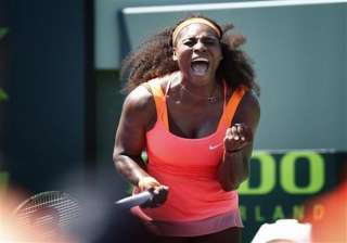 serena williams beats giorgi to give us 1 0 lead...