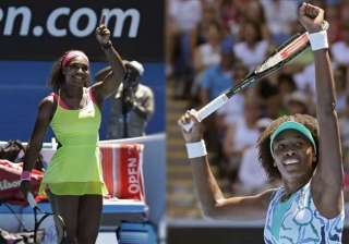 australian open 2015 serena venus williams into...