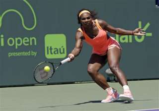 serena williams begins her clay season at italy...