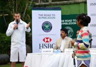 road to wimbledon to continue in india - India TV