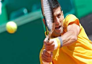 djokovic eases into 3rd round at monte carlo...