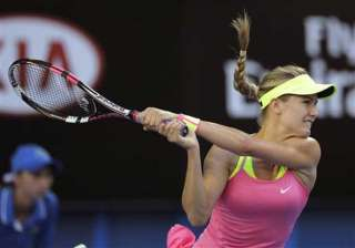 tennis star bouchard happy with performance -...