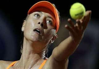 us open maria sharapova out with shoulder injury...