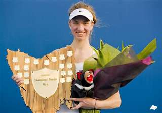 mona barthel wins hobart wta title - India TV