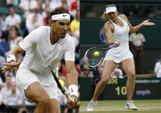 nadal sharapova win on a rainy day at wimbledon -...