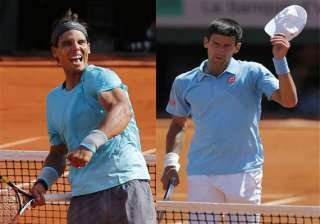 nadal and djokovic to meet in french open final -...