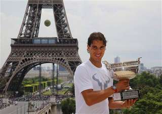 nadal holds onto no. 1 sharapova up to no. 5 in...