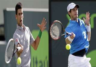 novak djokovic beats andy murray in sony open...