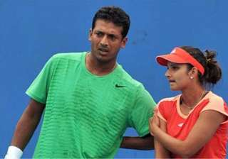 sania in quarters of women s and mixed doubles at...