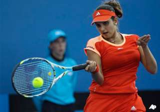 sania vesnina in pre quarters of australian open...