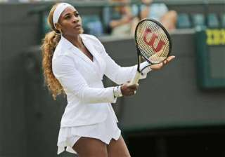 serena routs scheepers to make wimbledon 3rd...