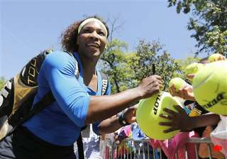 serena looking ahead to both olympics and fed cup...