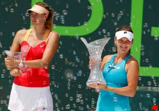 sharapova loses in key biscayne final to...
