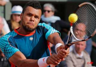 tsonga returns wraps up match at french open -...