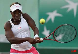 us teen stephens french open ends against stosur...