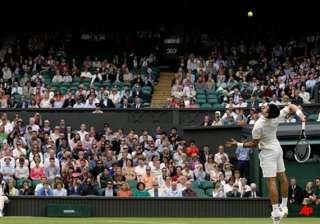 use of wimbledon roof has some players bewildered...