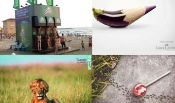20 creative and clever print ads - India TV