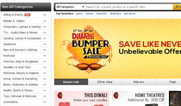 snapdeal says 30 orders are being placed through...