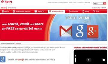 airtel ties up with google to offer free search...