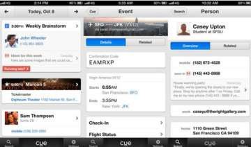 apple buys personal assistant app cue - India TV