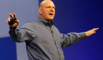 at a glance microsoft ceo ballmer s ups and downs...